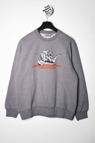 Carhartt WIP Pullover Stones Throw Sweatshirt grau online bestellen
