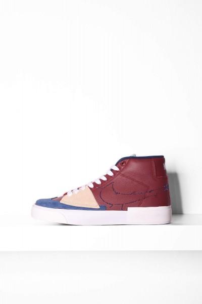 Nike SB Blazer Mid Edge team rot / blau online bestellen