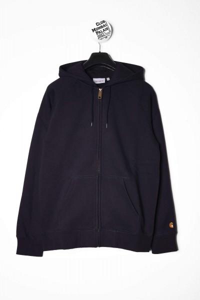 Carhartt WIP Hooded Chase Jacket dunkelblau online bestellen