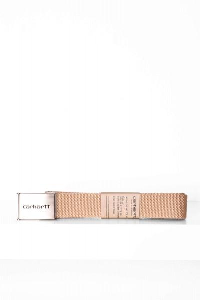 Carhartt WIP Clip Belt Chrome braun online bestellen