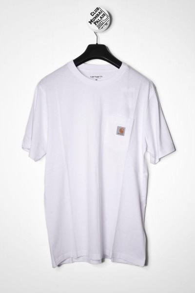 Carhartt WIP S/S Pocket T-Shirt white / weiß online kaufen