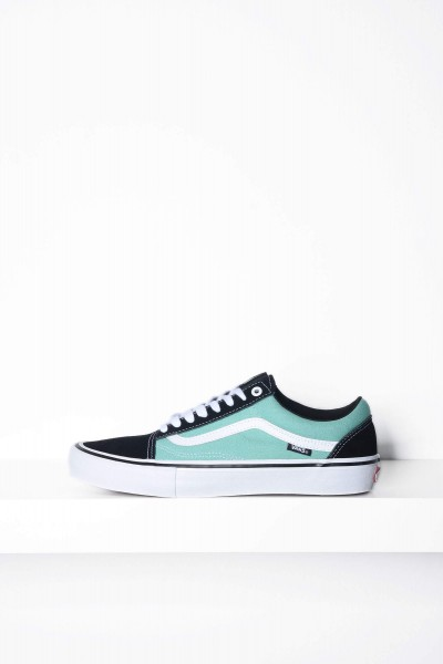 Vans Skateschuhe Old Skool Pro schwarz / jade Sneaker kaufen