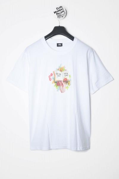 Stüssy T-Shirt Handbook Tee weiss Vorderseite
