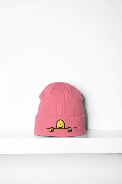 Thrasher Beanie Gonzo Sad light pink Mütze online bestellen