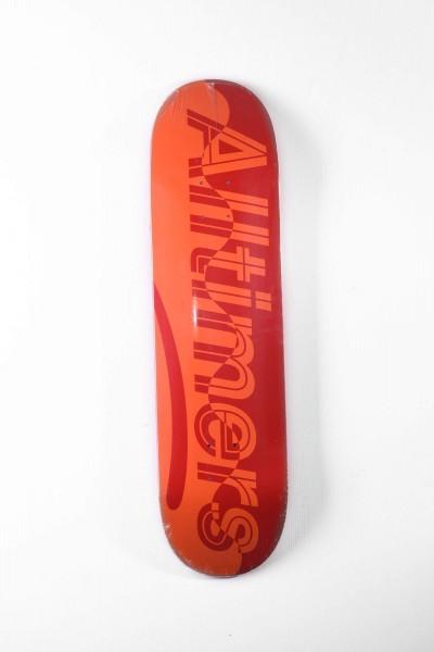 Alltimers Skateboard Deck Motiv Red Wave Estate kaufen
