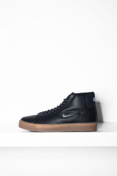 Nike SB Skatboardschuhe Blazer Mid schwarz / gum Sneakers - jetzt kaufen