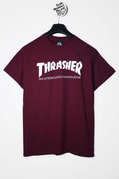 Thrasher Magazine T-Shirt Skate Mag rot bordeaux maroon kaufen
