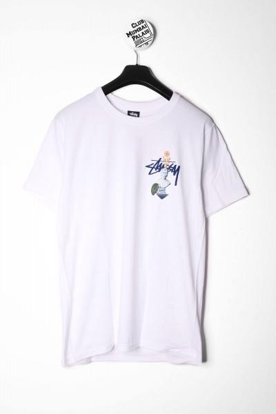 Stüssy T-Shirt Psychedelic weiß online bestellen