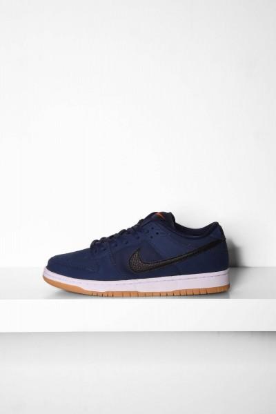 Nike SB Dunk Skateboardschuhe Low Pro ISO midnight blau navy / black kaufen