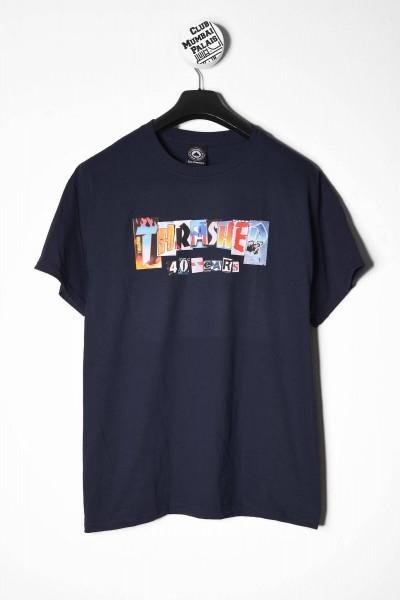 Thrasher T-Shirt 40 Years blau online bestellen