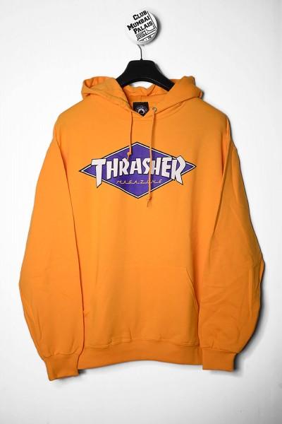 Thrasher Hoodie Diamond gold / gelb Kapuzenpullover online shoppen