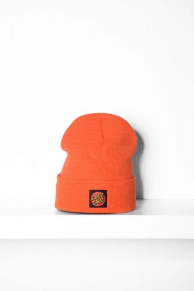 Santa Cruz Beanie Classic Label Dot orange online bestellen