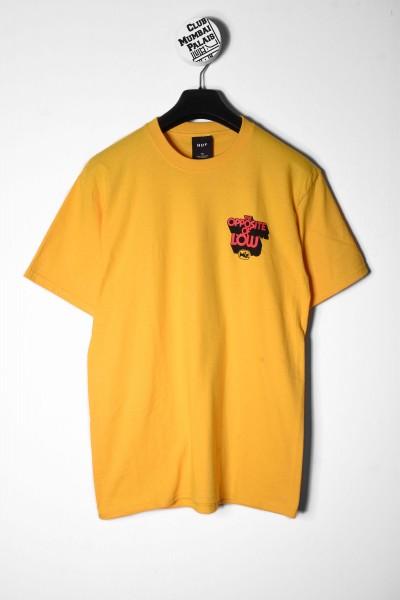 HUF T-Shirt Opposite Of Low gelb online bestellen