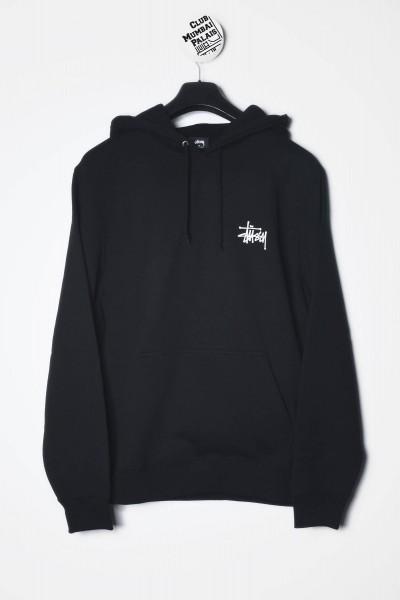 Stüssy Hoodie Basic Stussy schwarz Kapuzenpullover / Sweatshirts kaufen