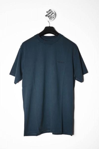 Carhartt WIP T-Shirt Mosby Script grün / blau online bestellen