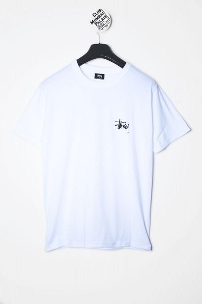 Stüssy T-Shirt Basic Stussy Backprint Tee weiß kaufen