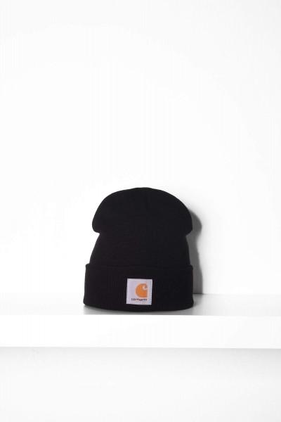 Carhartt WIP Beanie Short Watch Hat black / schwarz Mütze online bestellen