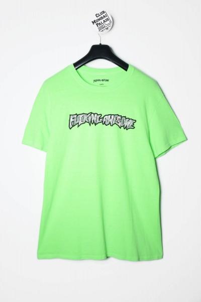 Fucking Aweosme T-Shirt Actual Visual Guidance Tee neon grün kaufen