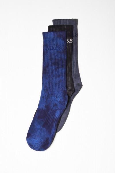Nike SB Lightweight Plus Socks 3-Pack blau online bestellen