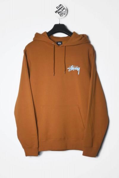 Stüssy Hoodie Peace & Love Hood caramel / braun Kapuzenpullover / Sweatshirt kaufen