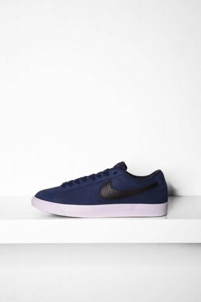 Nike SB Blazer Low GT ISO midnight navy / dunkelblau Skateboardschuhe online bestellen