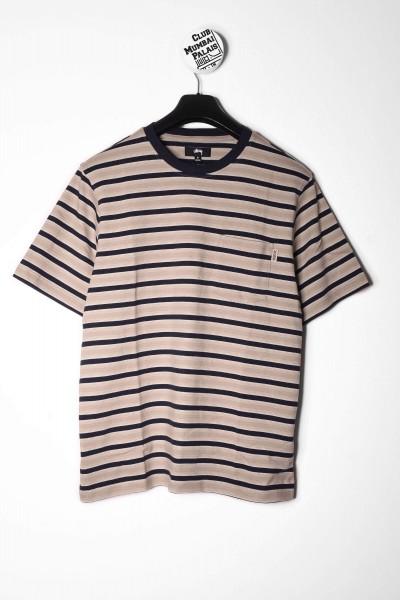 Stüssy T-Shirt Griffin Stripe khaki online bestellen