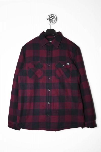 Dickies Hemd l/s Sacramento Shirt dunkel rot online bestellen