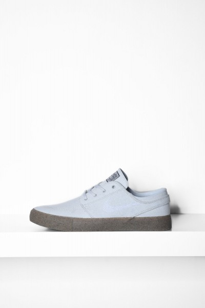 Nike SB Stefan Janoski Fly Pure Leather Platinum grau Skateboardschuhe - jetzt kaufen