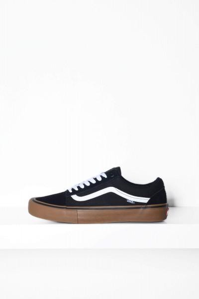 Vans Skateschuhe Old Skool Pro Gum schwarz / weiss kaufen