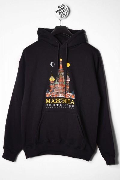 Magenta Hoodie Moscou schwarz online bestellen