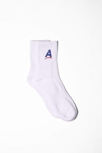 Alltimers Socks Estate Embroidered weiß online bestellen
