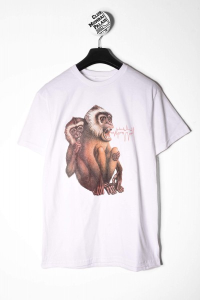 Fucking Awesome Monkey Radar Tee weiß online bestellen