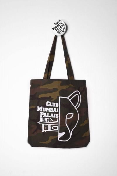 Club Mumbai Palais Skateboarding Tasche / Totebag Camouflage Panther Print