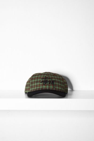 Stüssy Plaid 2 Tone Cap grün online bestellen