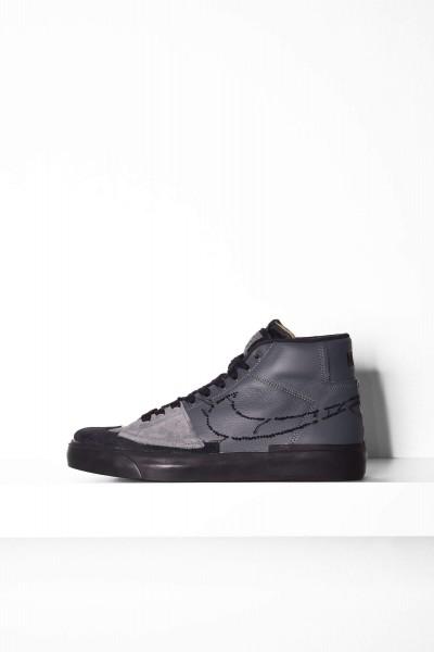 Nike SB Blazer Mid Edge grau / schwarz online bestellen