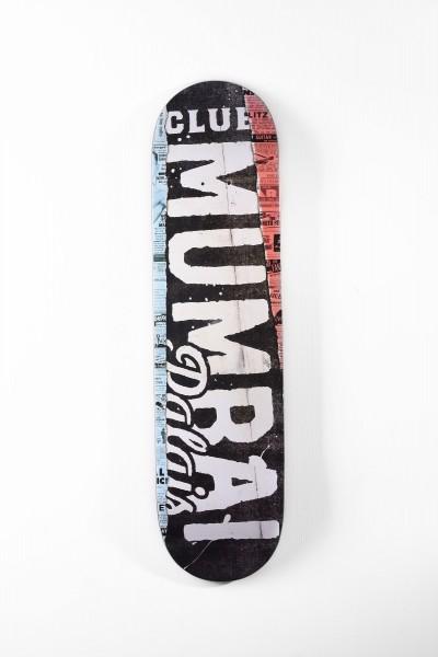 Club Mumbai Palais Skateboard Deck Script online bestellen