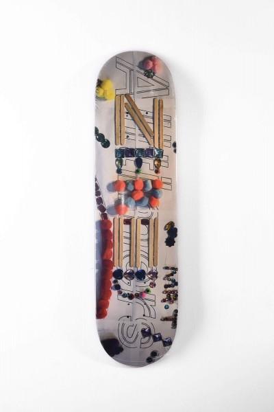 Alltimers Skateboard Deck Crafts Zered Motiv jetzt kaufen