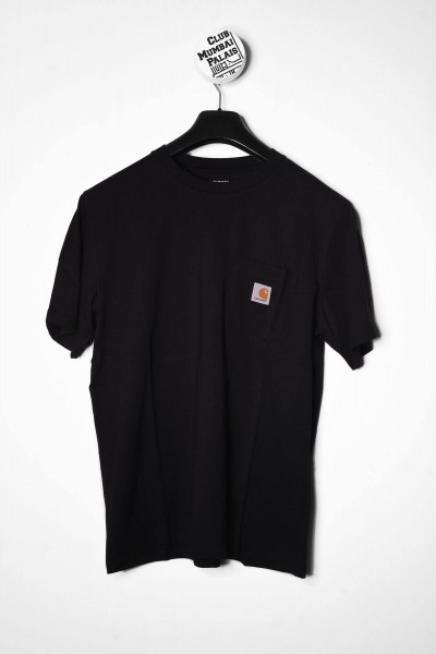 Carhartt WIP S/S Pocket T-Shirt black / schwarz online shoppen
