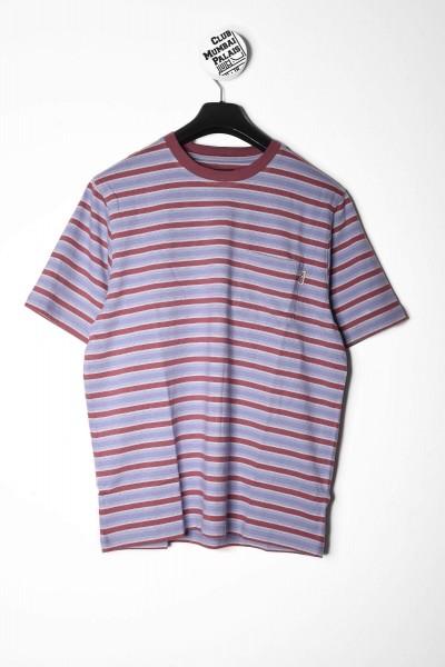 Stüssy T-Shirt Griffin Stripe rot / multi online bestellen
