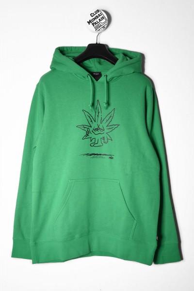 HUF Hoodie EASY grün online bestellen