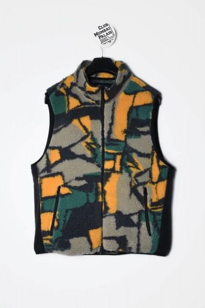Stüssy Weste Block Sherpa multi - Jacke kaufen
