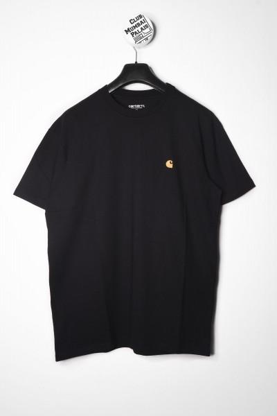 Carhartt WIP T-Shirt Chase combed black schwarz / gold online bestellen