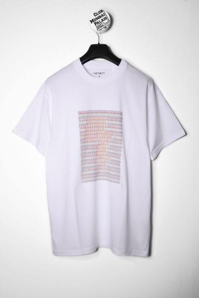 Carhartt WIP T-Shirt DFA weiss Frontprint online bestellen