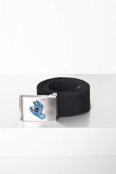 Santa Cruz Gürtel Mini Hand Belt black / schwarz Schnalle Edelstahl