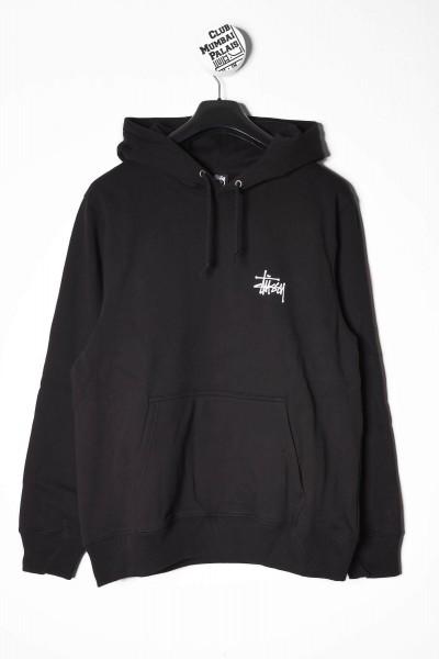 Stüssy Basic Hoodie schwarz online bestellen