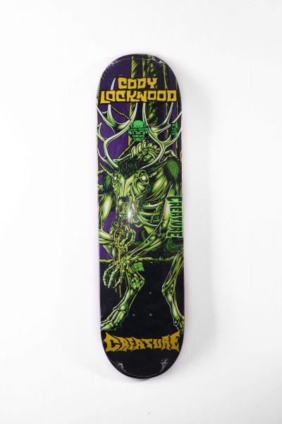 Creature Skateboard Deck Lockwood Swamp Lurker hier kaufen