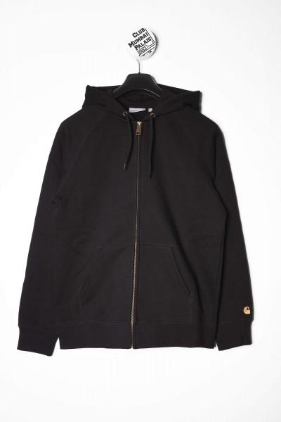 Carhartt WIP Hooded Chase Jacket schwarz online bestellen