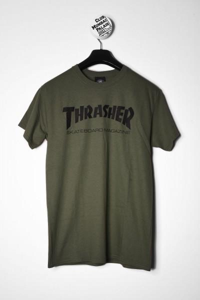 Thrasher T-Shirt Skate Mag dunkelgrün online bestellen