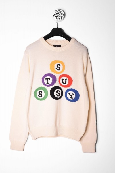 Stüssy Sweatshirt Billard natural online bestellen