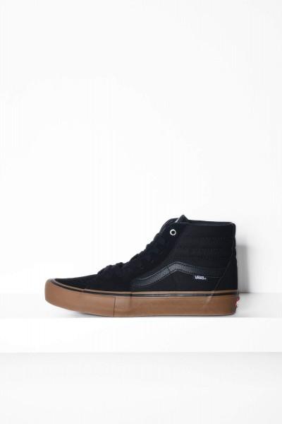 Vans Skateschuhe Sk8-Hi Pro black / schwarz gum Sneaker kaufen